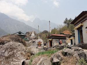 Im Solo-Khumbutal in Nepal