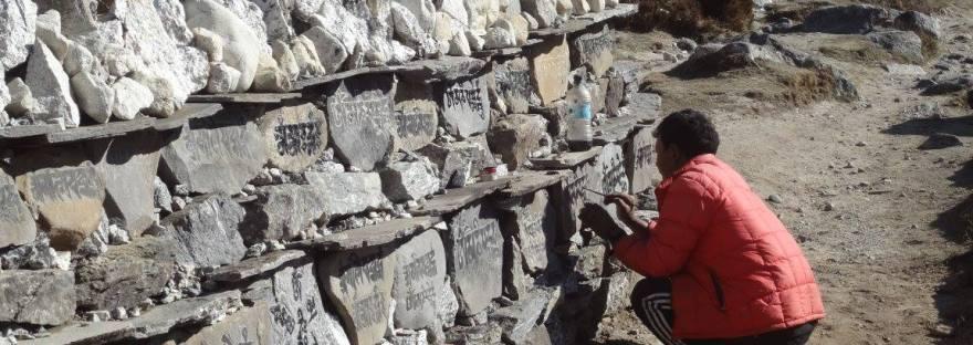 Gebetssteine Nepal