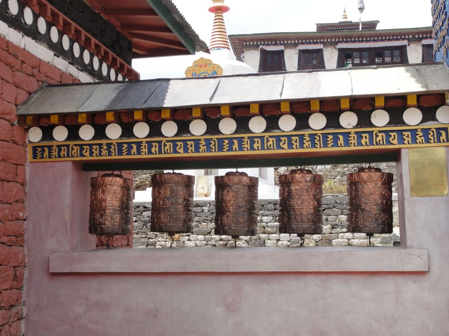 Gebetsmühlen Nepal